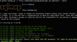 Testowanie pod kątem wstrzykiwania zapytań SQL