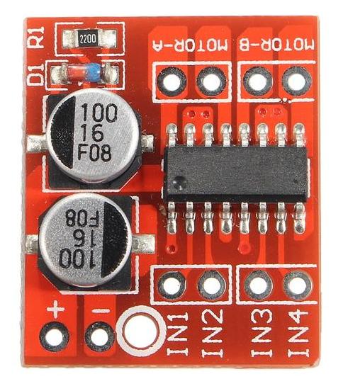 L298N - controlador de motor de canal dual