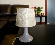 litofan lampka