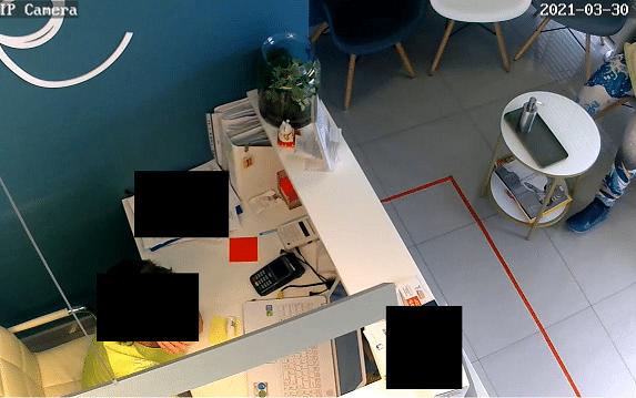 IP-Kamera Kabinett